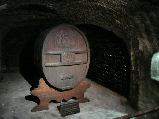 Barrel from Napoleon to Mr. Moet