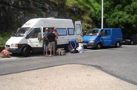 The Vans...
