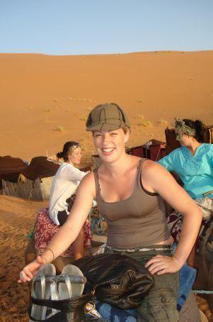 On Camel..Merzouga Desert Morocco