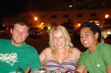 Green Boys...Russ and Shep in Gibraltar