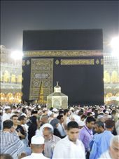 A closer look of Kaaba, built by Abraham & Ishmael to worship the one true God.: by live-to-travel, Views[547]