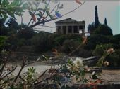 The harmony of the natural landscape and the historical architecture of Ancient Agora in Athens, Greece create the perfect setting for a romantic stroll.: by livinglifetothefullest, Views[480]