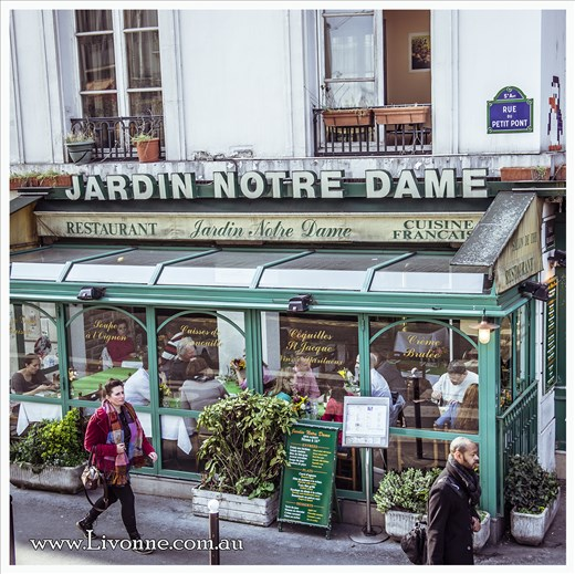 Strolling through Paris