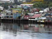 Palafitos in Castro on the estuary of the river Gamboa and the Pacific.: by llamalovers, Views[1375]