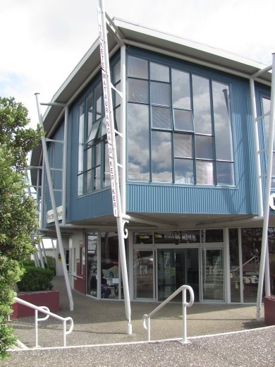 Procter Library, Kerikeri - shaped like a boat