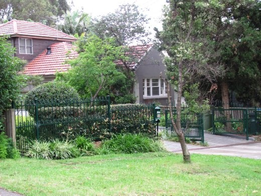The house that Greg grew up in (now a bit larger than it was) in West Pymble.