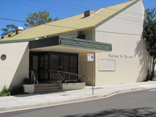 Marion Street Theatre - where we saw