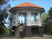 Octagonal bandstand in Virginia Lake Reserve, Wanganui: by locomocean, Views[750]