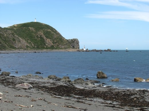 The light-house we were heading for (and didn't quite get to) is way in the distance.