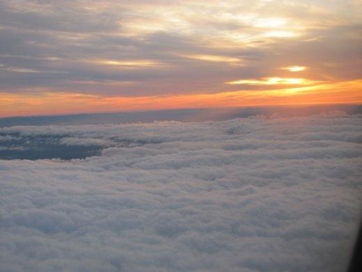 What a gorgeous sunrise - it's a good omen!