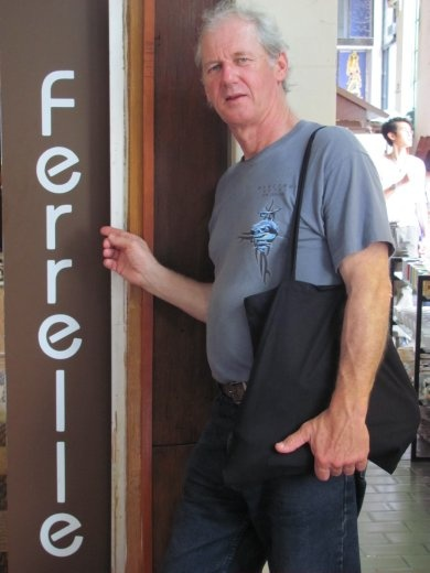 Greg found a market stall inside the Central Market that has the same grand name.