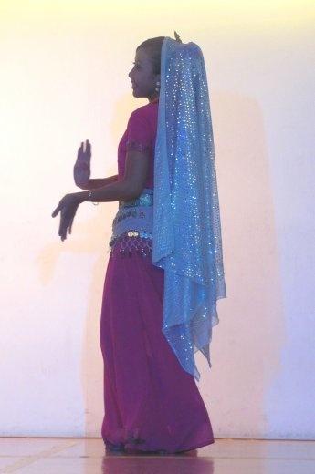 One of the dancing beauties