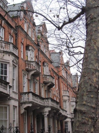 These were typical of the beautiful buildings waiting to greet us in London