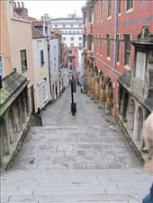 The brightly named 'Christmas Steps' in Bristol. Still complete with cobbled paving.: by locomocean, Views[136]