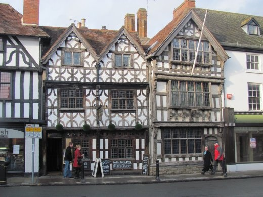 Really does feel olde-worldey in Stratford-upon-Avon!