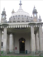 The main entrance to the very elaborate Brighton Royal Pavillion - it oozes decoration: by locomocean, Views[151]