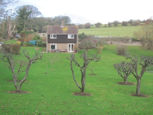 This is the house we stayed in with Margaret - this is a very common styled house throughout England (but they usually stand in a sea of other houses, unlike this one)