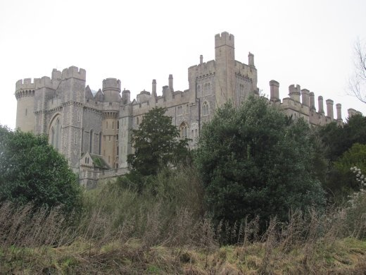 Down the road from Brighton stands grand Arundel Castle