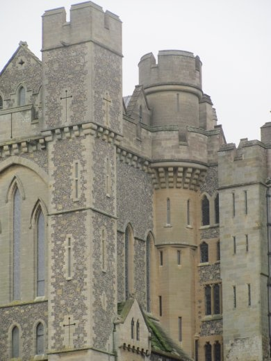 Arundel Castle is a fine example of a well-kept, functional castle - I love it!