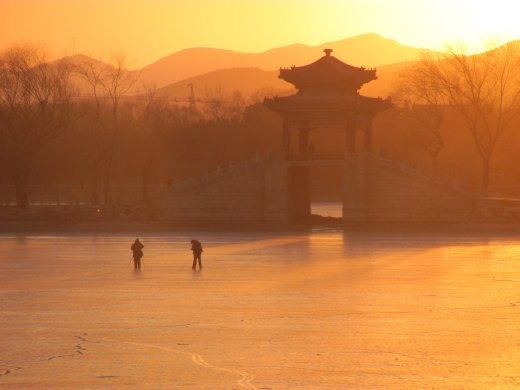We'd had another fabulous day in Beijing - this was a very fitting ending to the day