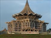 Legislative Assembly building in Kuching... or possibly the Jedi Temple: by lolnorman, Views[286]
