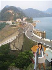 The dam that Steve took me to see...well out of either Taipei or Jhongli, impressive ....and I think its called the Shirmen Dam....spelled differently I'm sure.: by lolo, Views[336]