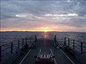 Atardecer desde el ferry que te lleva desde San Jorge hasta la Isla de Ometepe: by loloberlin, Views[234]