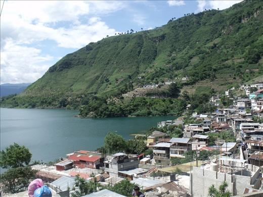 Lago Atitlán desde San Antonio Palopó