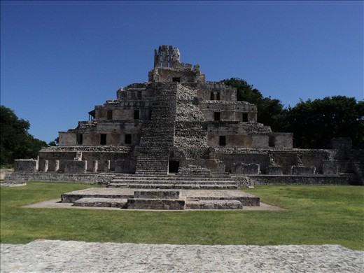 Ruinas mayas de Etzná