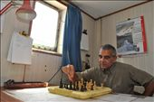Captain Pedro play chess alone because his rival left the ship time ago: by lookssavetheworld, Views[448]