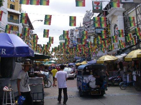 Famous Khao San Rd