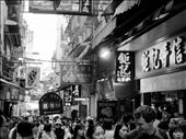 A frozen moment on a busy side street of the Lady's Market in Kowloon. : by lor_lor201, Views[69]