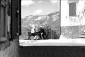 two elderly people that show how life can be beautiful even in a lonely place as Castelluccio of Norcia: by loreno_micoli, Views[95]