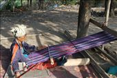 Long hours are spend by the tribe women making scarfs to sell. : by lorib33, Views[132]