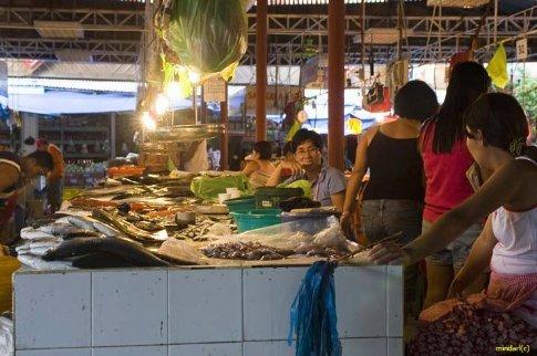 The local Boracay Market