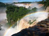 Iguazu - rainbow over the falls: by lou, Views[126]