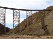 Roadtrip from Salta - climbing the viaduct: by lou, Views[183]