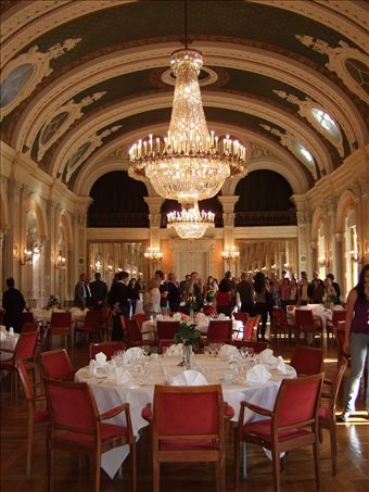 Our Reception Dinner At Malmo Town Hallooh Fancy