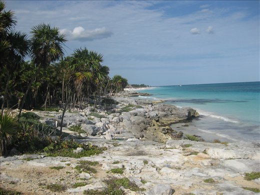 Tulum Beach from the other end