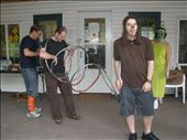 Michael and Will playing Slinky the Dog for Round Robin: by loz, Views[121]