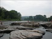 At Skinner's Falls on the Delaware River, NY: by loz, Views[826]