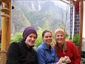 Georgie, Clare and I after day 1 of hike: by loza3210, Views[278]