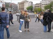 Elisha and I in Europe Istanbul... my first steps in Europe, can't wait to explore more: by loza3210, Views[157]