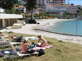 Killing time on the island of Samos, beach for a couple of hours while waiting for next Ferry to Mykonos: by loza3210, Views[203]