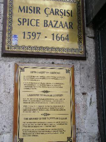 The famour spice bizaar