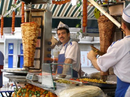 The kebab man!