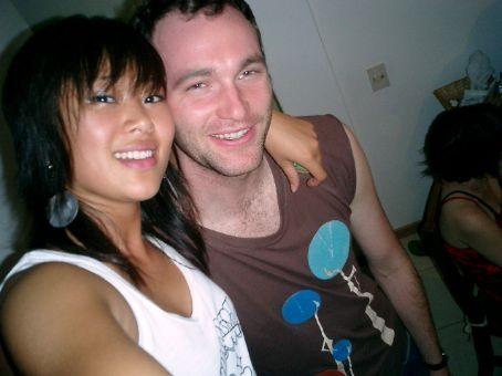 Dan and me