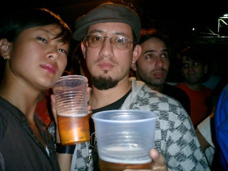 Jose, whom I met at Zizek, does rapping and VJing in BA and Ecuador.