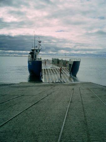 Crossing the Magallanes