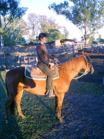 Yay, me on a horse :P